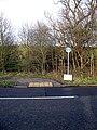 Footpath Crossing on Weald Road - geograph.org.uk - 957037.jpg