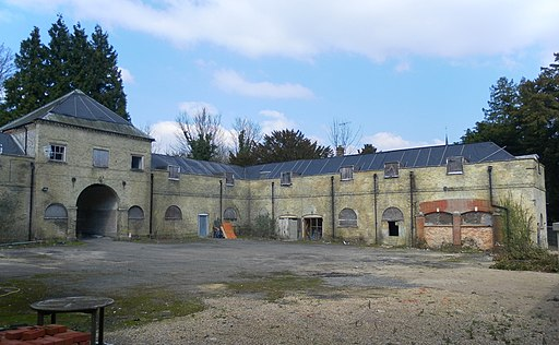 Former Stables of Stanmer House, Stanmer Park (Interior View - April 2013)