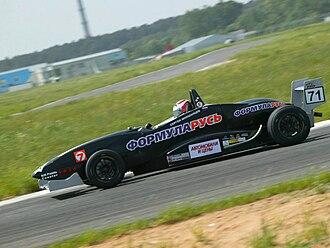 Formula RUS - Formula RUS car on track