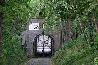 Fort de Barchon 19th-20th century defence for Liège, Belgium