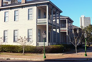 Church Street East Historic District - Image: Fort Conde Village 02