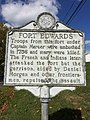 Fort Edwards Historical Marker Capon Bridge WV 2014 10 05 01.jpg