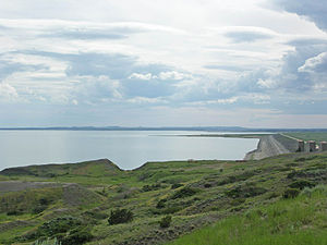 Eastern Montana - Fort Peck Lake