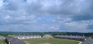Territorial era of Minnesota - Fort Snelling, completed in 1825, was the first major U.S. outpost in Minnesota.