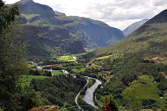 Luster, Norway - View of the Fortun area