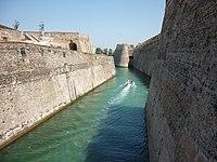 Foso de las Murallas Reales, Ceuta, desde el sur.jpg
