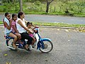 Four Females on One Bike - Jarabacoa - Dominican Republic.jpg