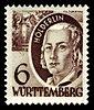 Fr. Zone Württemberg 1948 31 Friedrich Hölderlin.jpg