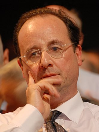 2007 French legislative election - Image: François Hollande (2007)