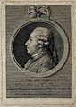 François Jacques Hoin. Line engraving by E. Fessard after C. Wellcome V0002837.jpg