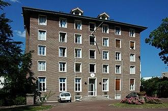 Kaj Gottlob - Image: France Paris Cite Universitaire Maison Danemark 01