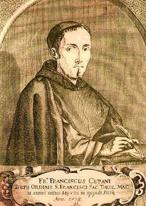 Francesco Cupani - Francesco Cupani in his Franciscan friar habit