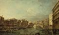 Francesco Guardi - Regatta op het Canal Grande bij de Rialtobrug te Venetië.jpg