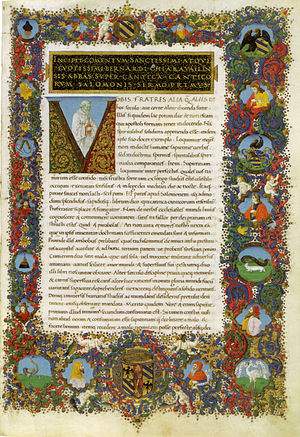 Francesco Rosselli - from illuminated manuscript by Francesco Rosselli, Vatican Library