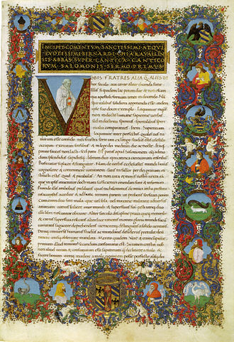 Francesco Rosselli - from illuminated manuscript by Francesco Rosselli, Vatican Library