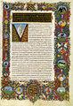 Francesco rosselli e maestro dell'iliade medicea, san bernardo e gilberto di hoyland, sermones in canticorum ms. urb lat 93 f 8r.jpg