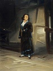 Francisco Goya: Portrait of Asensio Julià