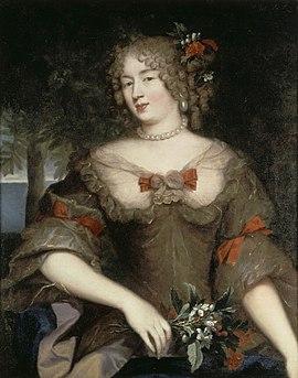 Françoise Marguerite de Sévigné, peinture à l'huile attribuée à Pierre Mignard (vers 1669), musée Carnavalet, Paris.