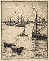 Frank W. Benson, Portsmouth Harbor, 1916.jpg