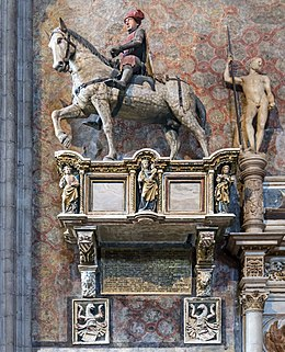 Frari (Venice) right transept - Monument to Paolo Savelli.jpg
