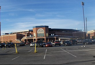 Delaware Sports Museum and Hall of Fame - Image: Frawley.Stadium
