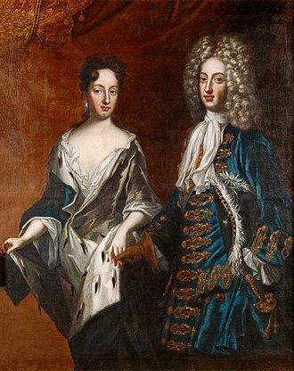 1698 in Sweden - Frederickivholsteingottorp and hedvigsofiaofsweden