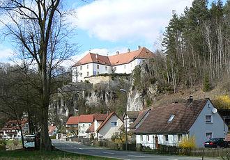 Bayreuth (district) - Image: Freienfels bei Hollfeld