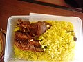 Fried rice and peppered cow skin.jpg