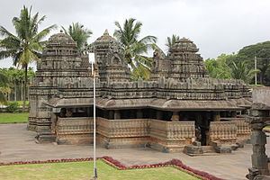 Kedareshvara Temple, Balligavi - Kedareshvara temple (1070) at Balligavi in Shimoga district