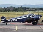 G-BKGM Beech 18 Bristol Airways Ltd (36029802392).jpg