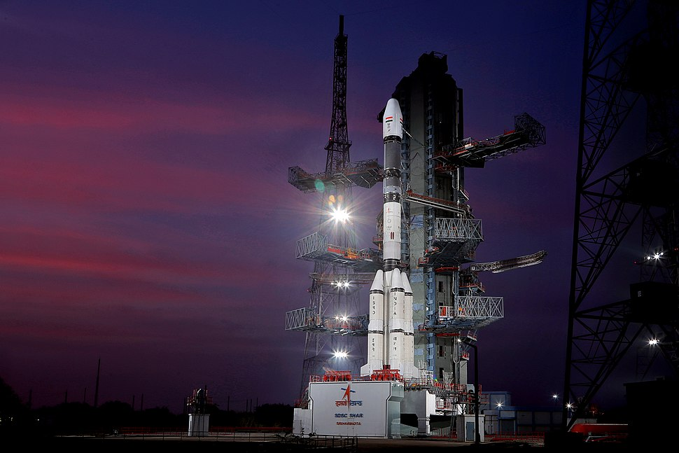 GSLV F11 GSAT-7A campaign- Vehicle at Second Launch Pad 02