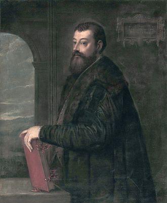Gabriele Giolito de' Ferrari - Gabriele Giolito de' Ferrari (Titian, 1554)