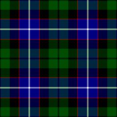 The Galbraith, Hunter, Mitchell or Russell tartan.