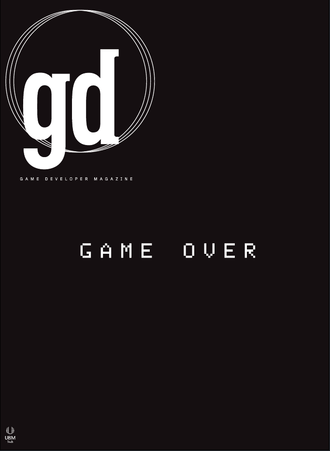 Game Developer (magazine) - Pictured: June-July 2013 cover