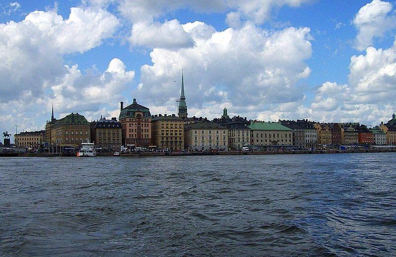 File:Gamla Stan Stockholm seen from the seaside.JPG