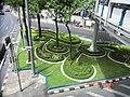 Garden outside MBK in Bangkok - panoramio.jpg