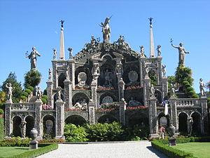 Isola Bella (Lago Maggiore) - The gardens