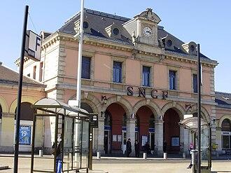 Meaux station - Gare de Meaux (built in 1890).