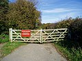Gate, Angmering Park Estate - geograph.org.uk - 611417.jpg
