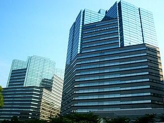 Fuji Electric - Headquarters in Gate City Ohsaki East Tower (left) in Tokyo