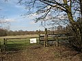 Gate into a cattle pasture north of Wortham Ling - geograph.org.uk - 1770313.jpg