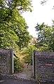 Gateway to footpath to housing, Friern Barnet, London N11 - geograph.org.uk - 901208.jpg