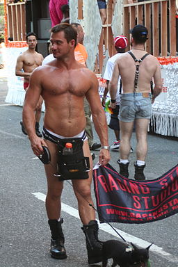 Gay Pride Parade 2007 NYC Raging Stallion Studios