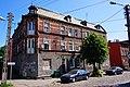Gdańsk - Orunia. Kamienica przy ul. Głuchej, róg ulicy Przy Torze - panoramio.jpg