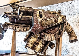 Gears of War 3 - A replica of the Digger Launcher at Epic Games' headquarters