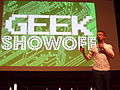 Geek Showoff at Wikimania 2014.JPG