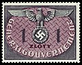 Generalgouvernement 1940 D13 Dienstmarke.jpg