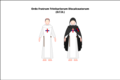 Generic habit of the discalced Trinitarian friars.png