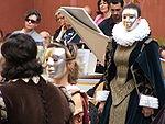 L'uso di maschere è contemplato anche in rappresentazioni musicali dell'epoca barocca