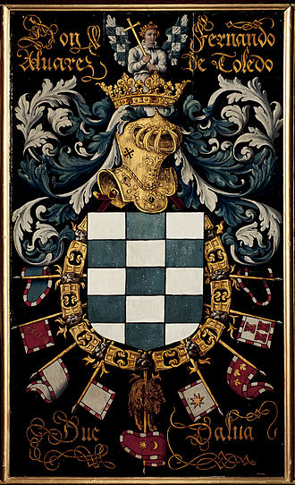 Fernando Álvarez de Toledo, 3rd Duke of Alba - Coat of arms of the 3rd Duke of Alba.